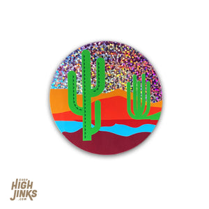 "Arizona Sky : 2.75"" Glitter Vinyl Sticker"