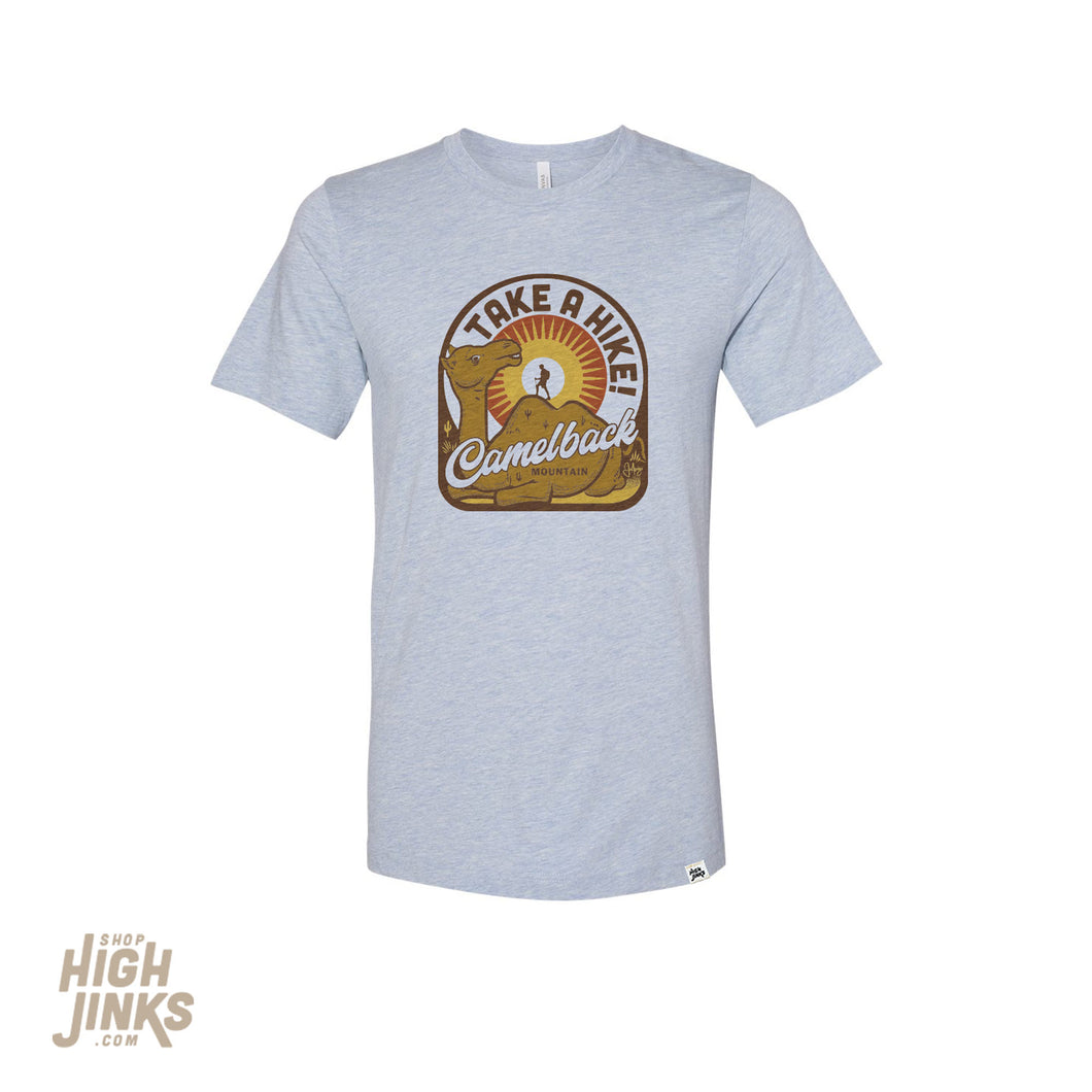 Take A Hike on Camelback : Adult's Crew Neck T-Shirt