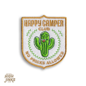 Happy Camper Club : Embroidered Felt Patch