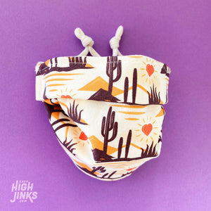 100% Cotton Washable Face Mask : Heart of the Desert