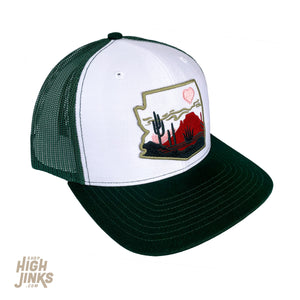 Heart of the Desert : Mid-Profile Trucker Hat