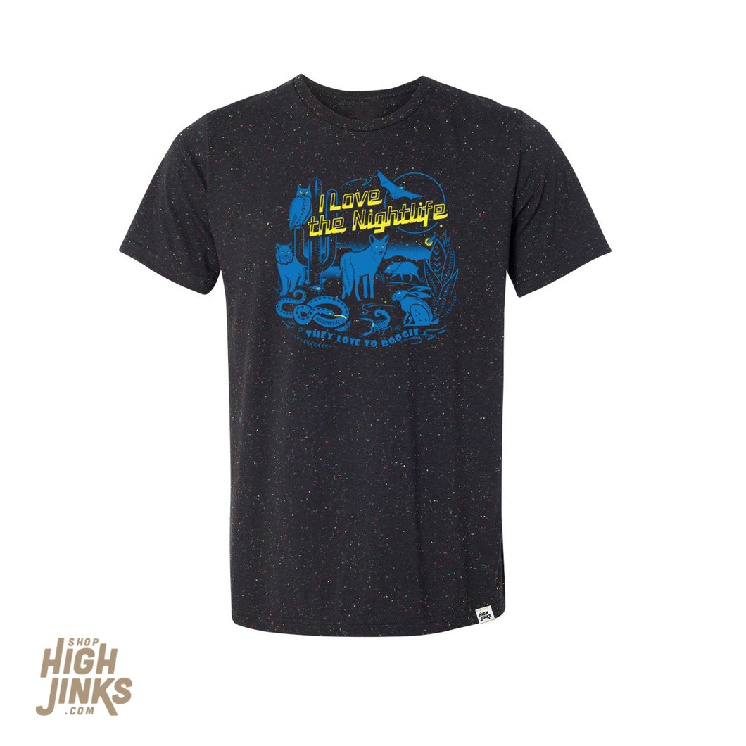 Desert Nights : Crew Neck T-Shirt