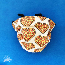 Load image into Gallery viewer, 100% Cotton Washable KIDS Face Mask : Pizza Lover