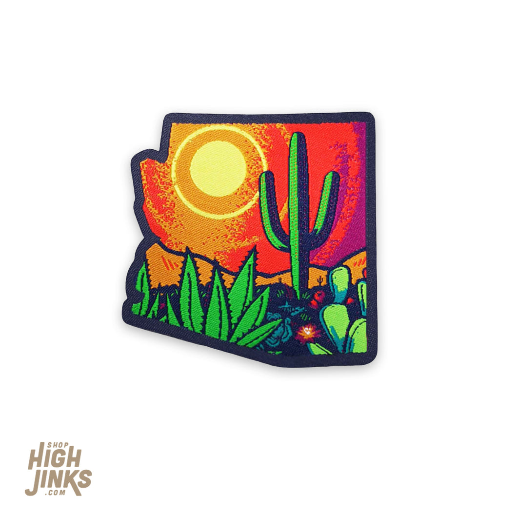POP Desert : Woven Patch