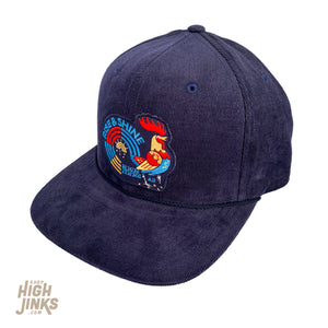 Rise and Shine Rooster : Corduroy Flat Brim Hat