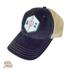 AZ Saguaro Scout : Unstructured Trucker Hat
