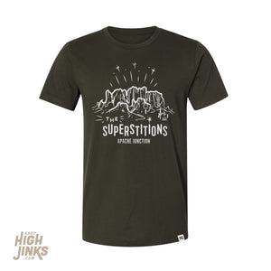 Superstitions : Crew Neck T-Shirt