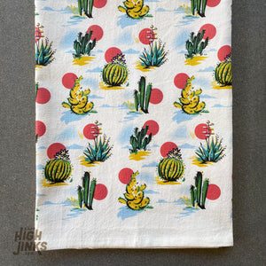Vintage Desert : Tea Towel
