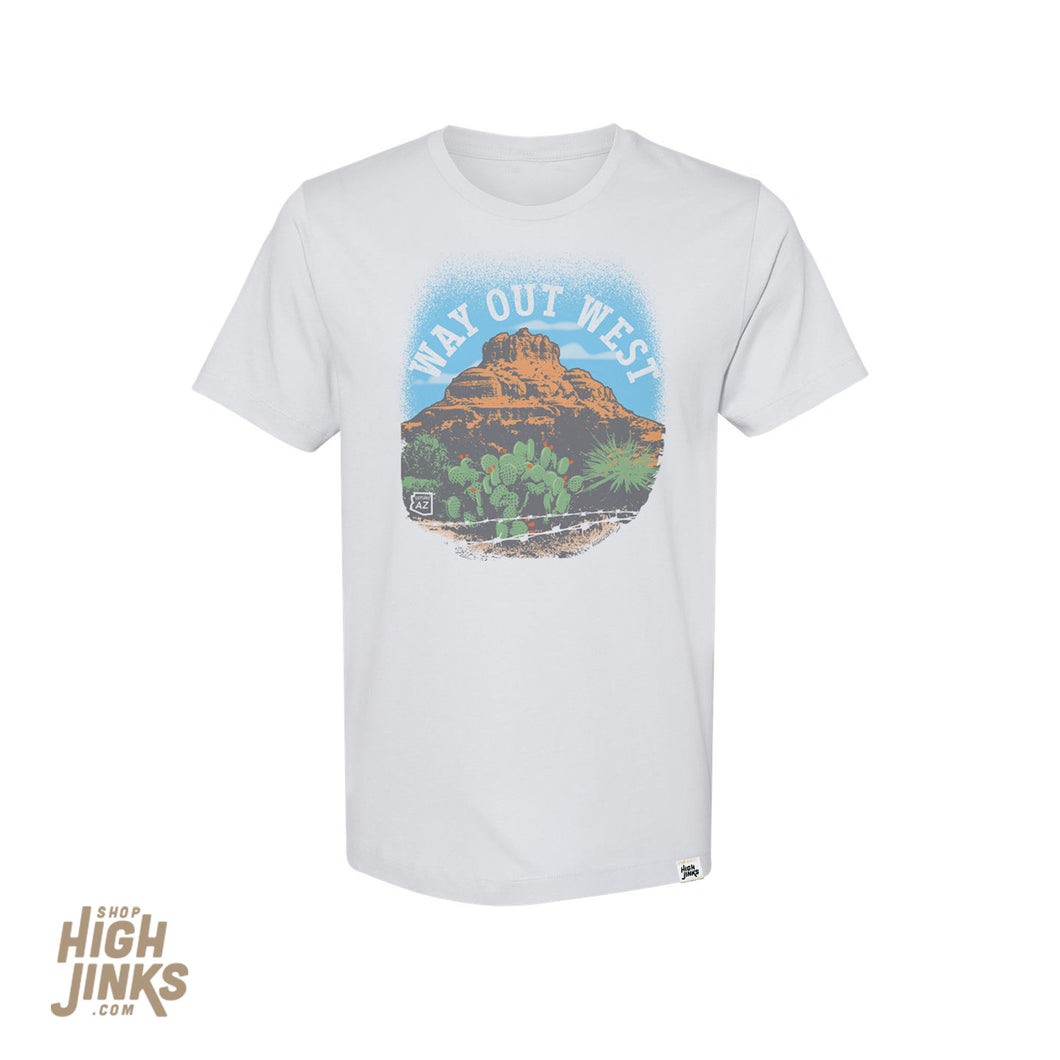 Way Out West : Crew Neck T-Shirt