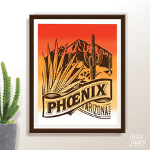 Load image into Gallery viewer, Phoenix Oethel Sunset : 8x10 Giclée Print