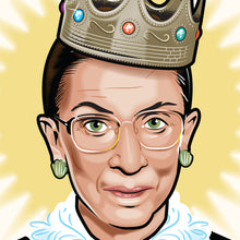 Load image into Gallery viewer, Notorious RBG : 8x10 Giclée Print
