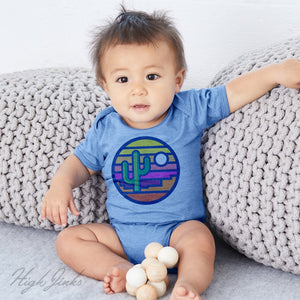 Stained Glass Sunset : Infants Bodysuit