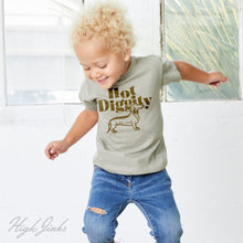 Load image into Gallery viewer, Hot Diggity Dog : Kid's Unisex Soft Blend T-Shirt