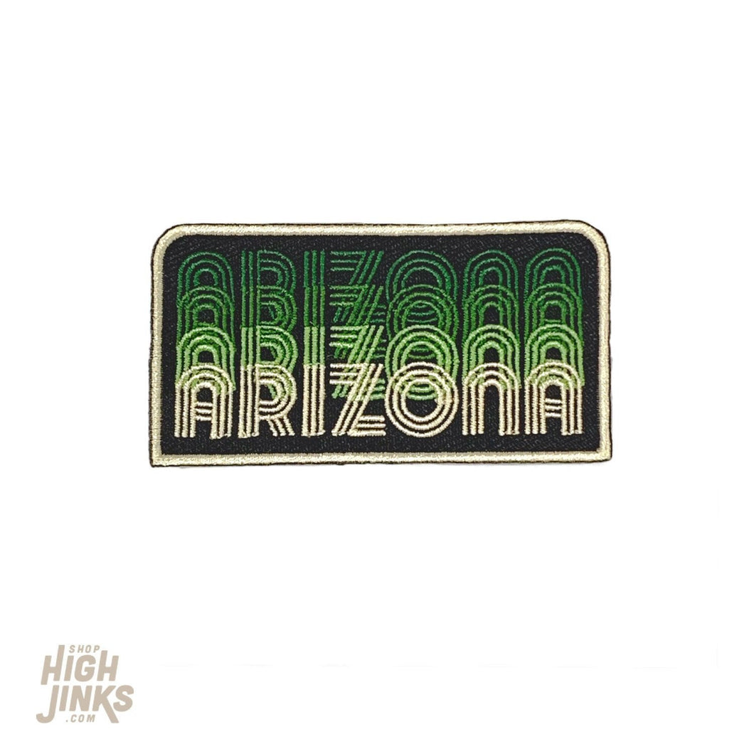 Arizona Fade : Embroidered Patch