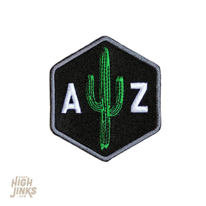Saguaro Scout: Embroidered Patch