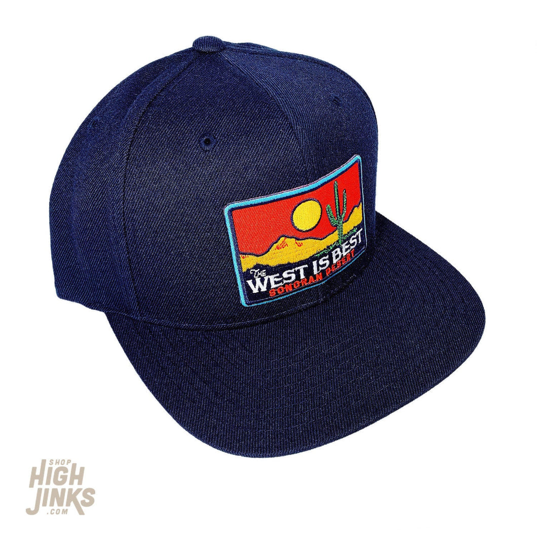 The West is Best : Flat Brim Cap