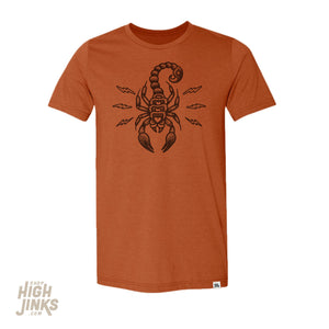 Electric Scorpion : Crew Neck T-Shirt