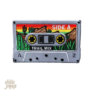 Trail Mix Tape : Embroidered Patch