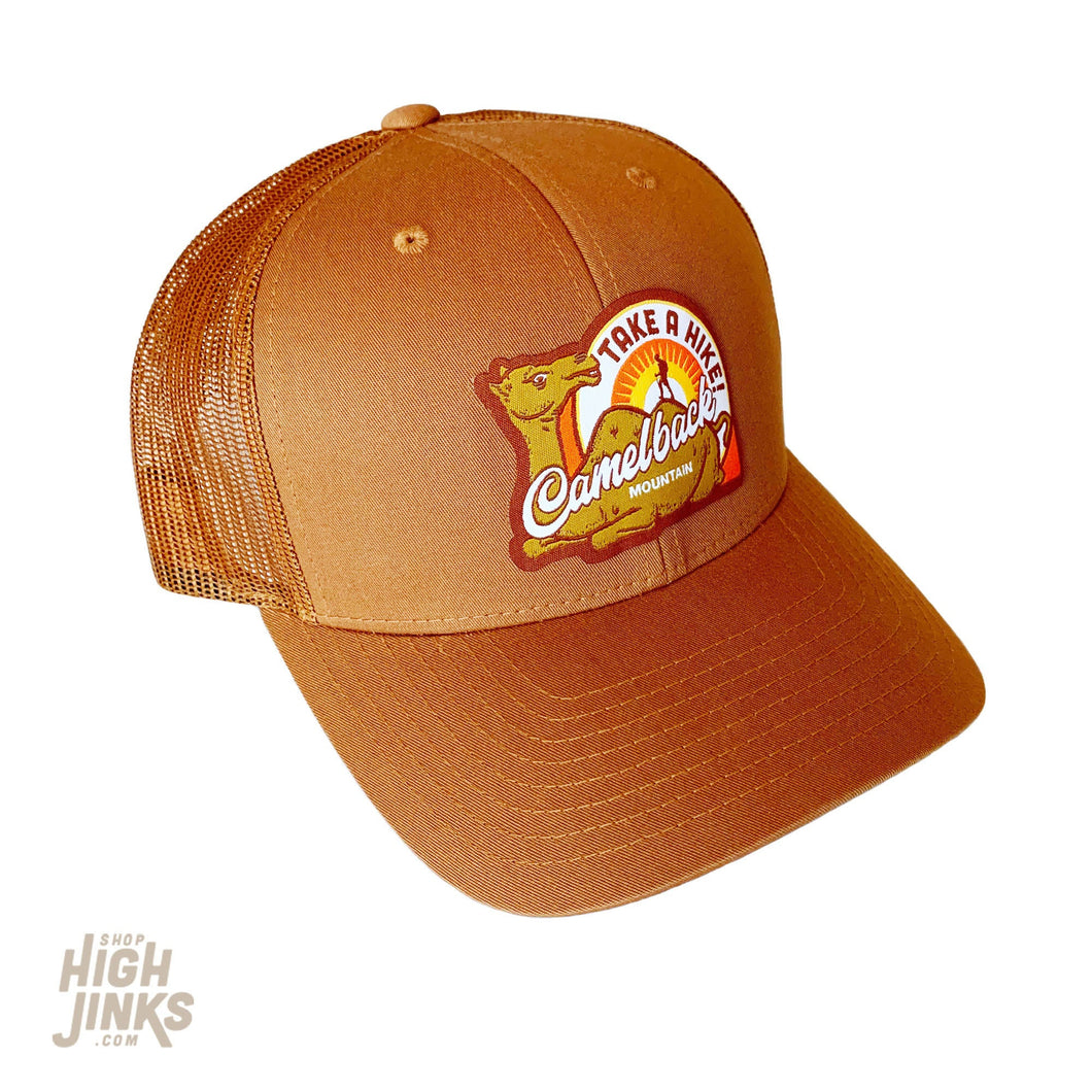 Camelback Mountain Take a Hike : Mid-Profile Trucker Hat