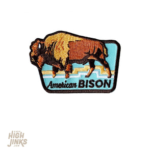 American Bison : Embroidered Patch