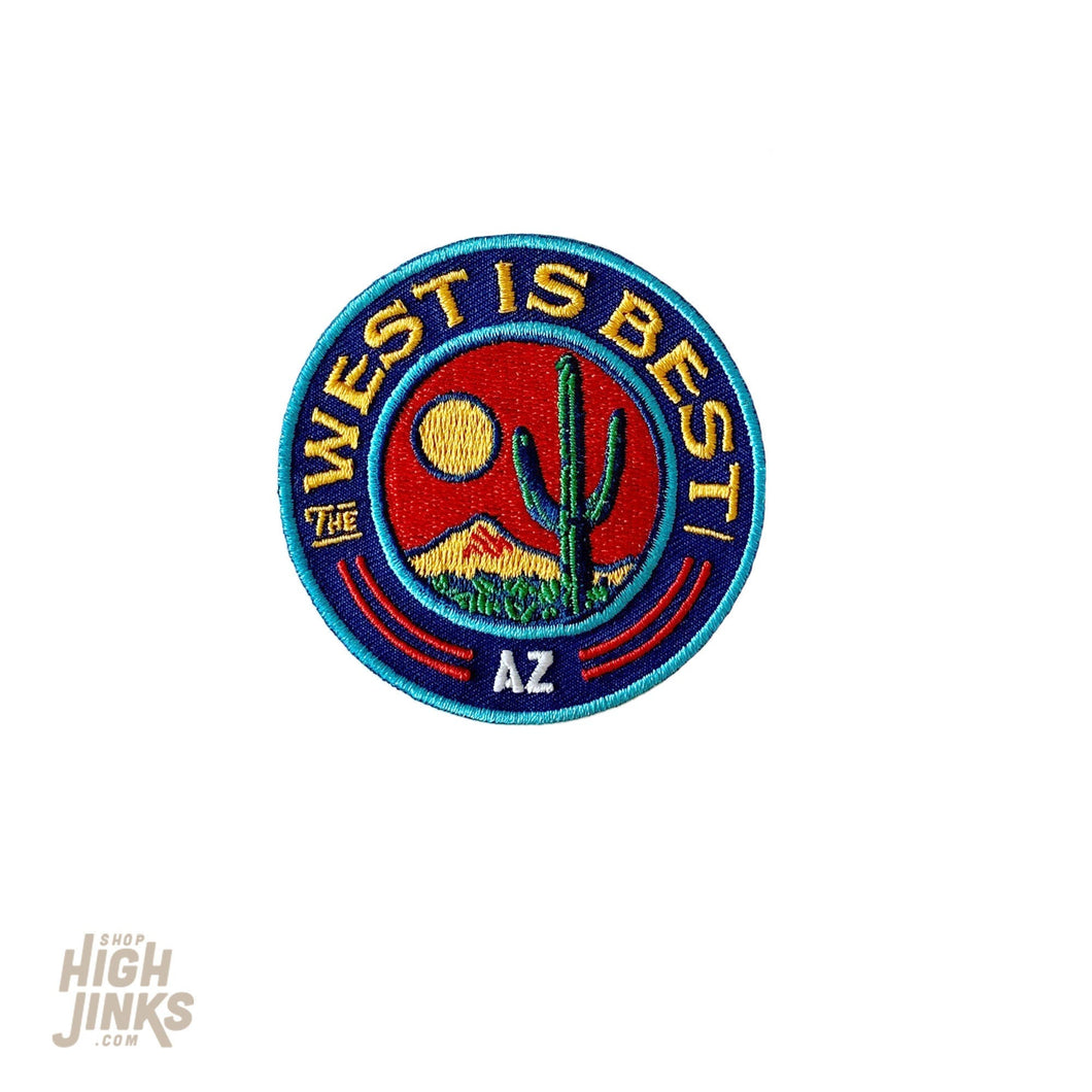 The West is Best : Embroidered Patch
