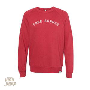 Free Shrugs : Lightweight Terry Raglan