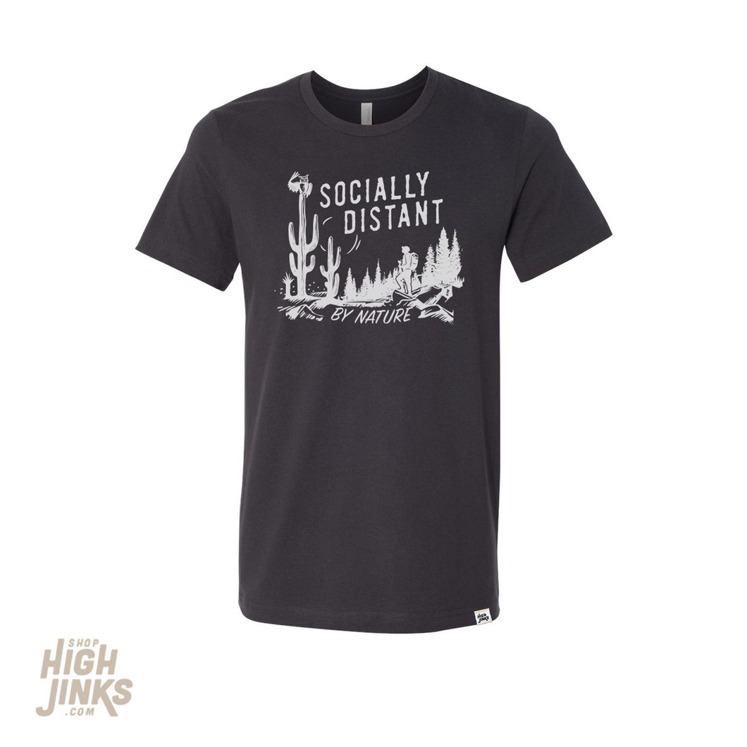 Social Distance : Adult's Crew Neck T-Shirt