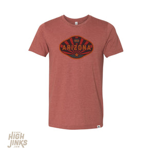 Arizona 1912 : Crew Neck T-Shirt