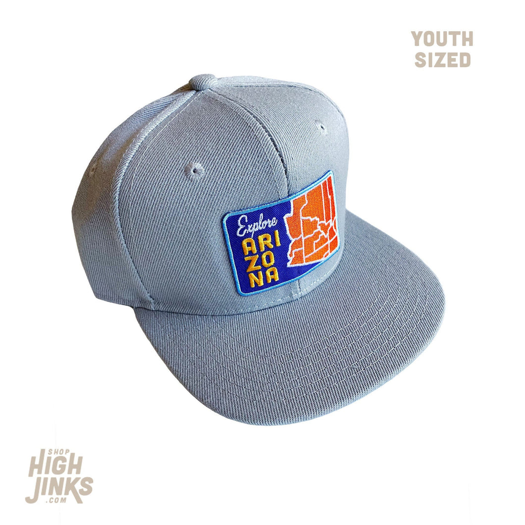 Explore Arizona : KIDS Flat Brim Hat