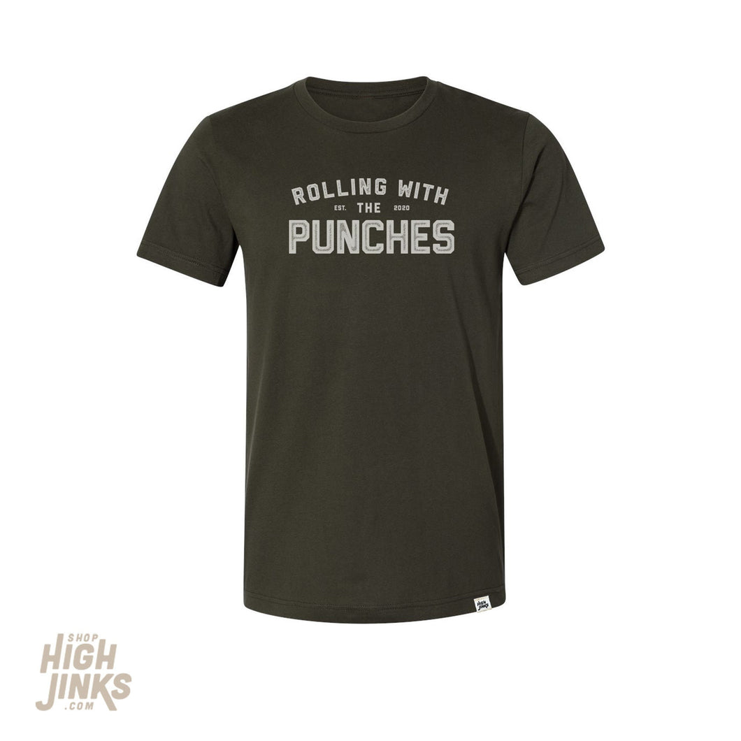 Rolling with the Punches : Adult's Crew Neck T-Shirt