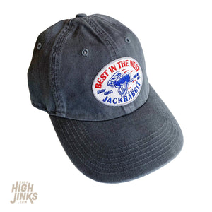 Best in the West Jackrabbit : Dad Cap