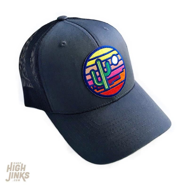 Stained Glass Sunset : Trucker Hat