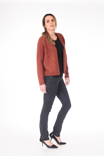 Cable Knit Cardigan - LEONA LEECardigan, Knit