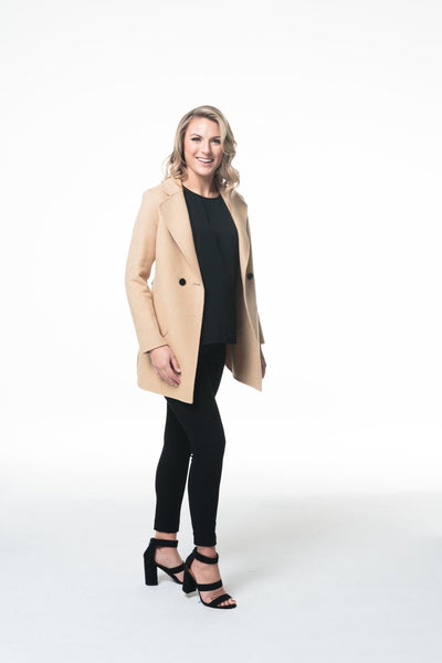 Luxury Wool Jacket - LEONA LEEDF Jacket