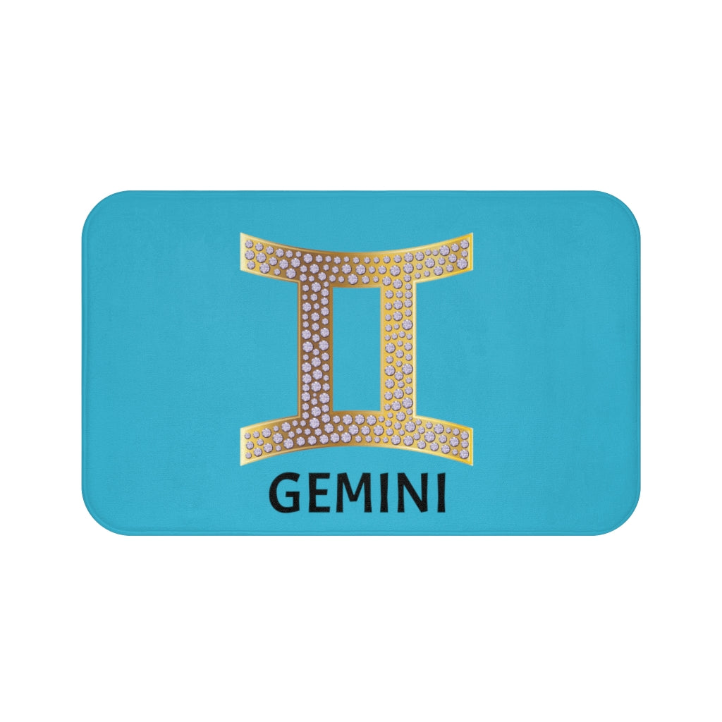 'KNOW WEAR™ GEMINI' Bath Mat (TGB)