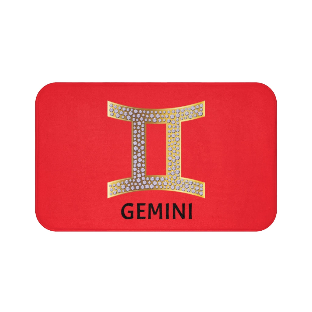 'KNOW WEAR™ GEMINI' Bath Mat (RGB)