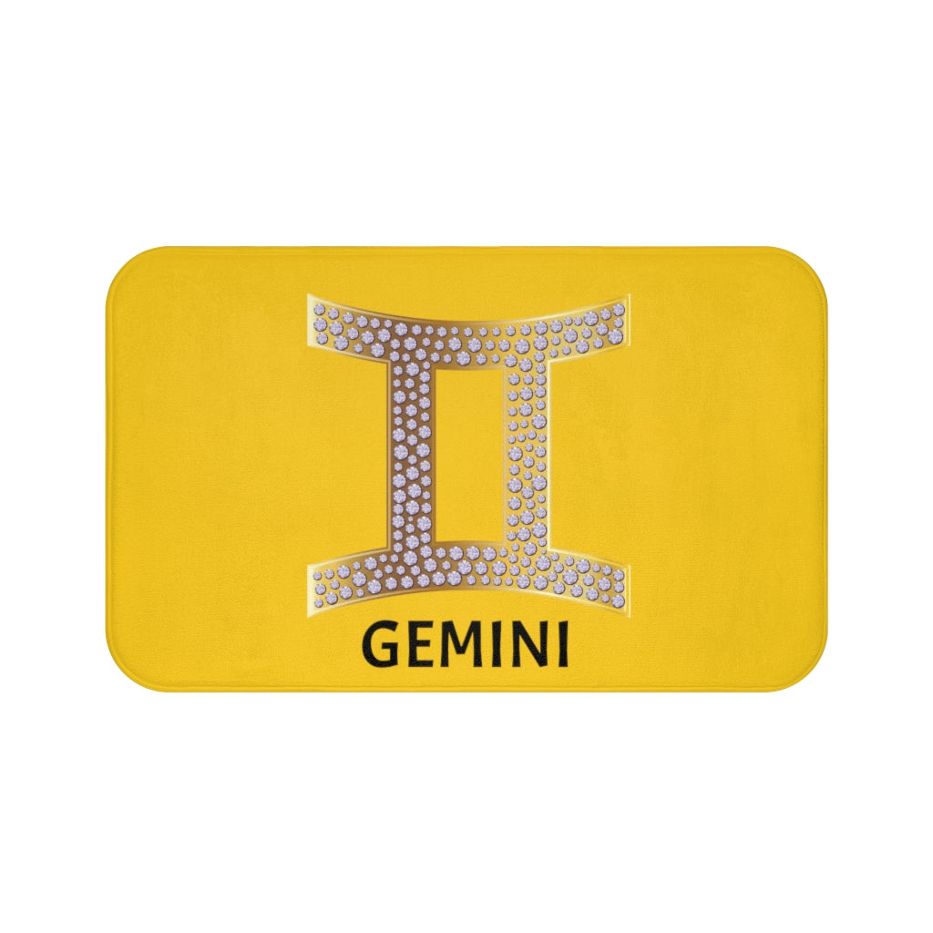 'KNOW WEAR™ GEMINI' Bath Mat (YGB)