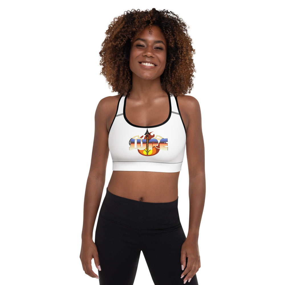 KNOW WEAR™ JUPE™ Padded Sports Bra