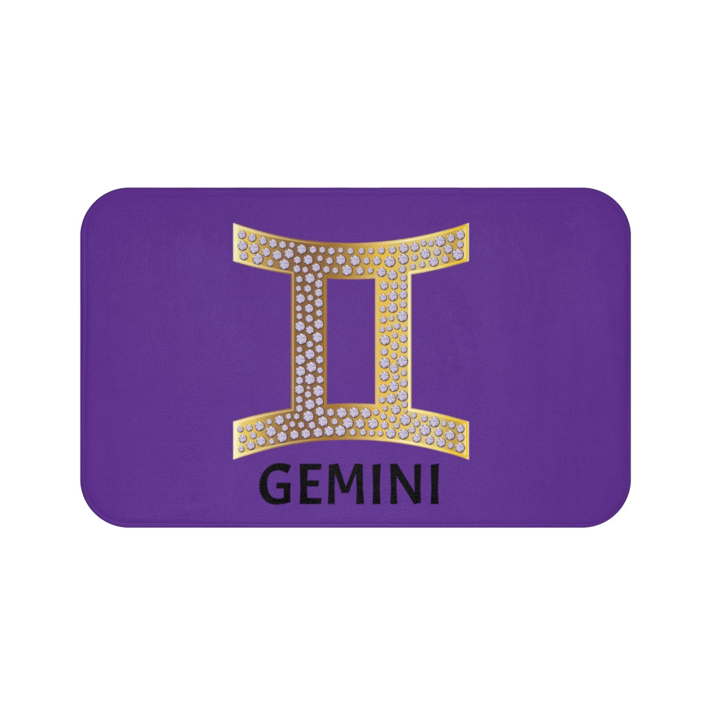 'KNOW WEAR™ GEMINI' Bath Mat (PGB)