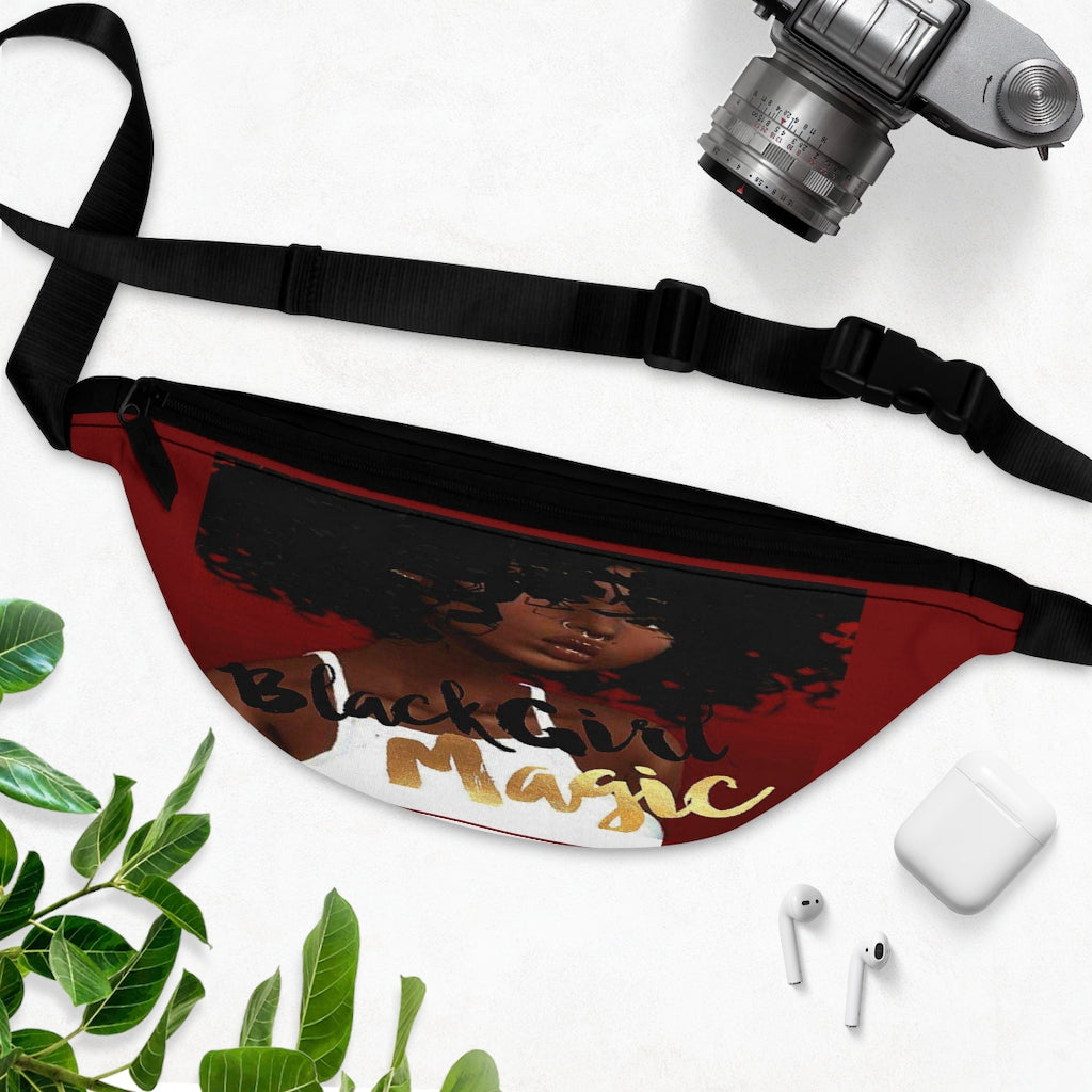 Black Girl Magic 36FIVE 'Curled Crown' Fanny Pack