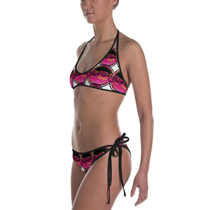 Black Girl Magic 36FIVE Two Piece Swimsuit