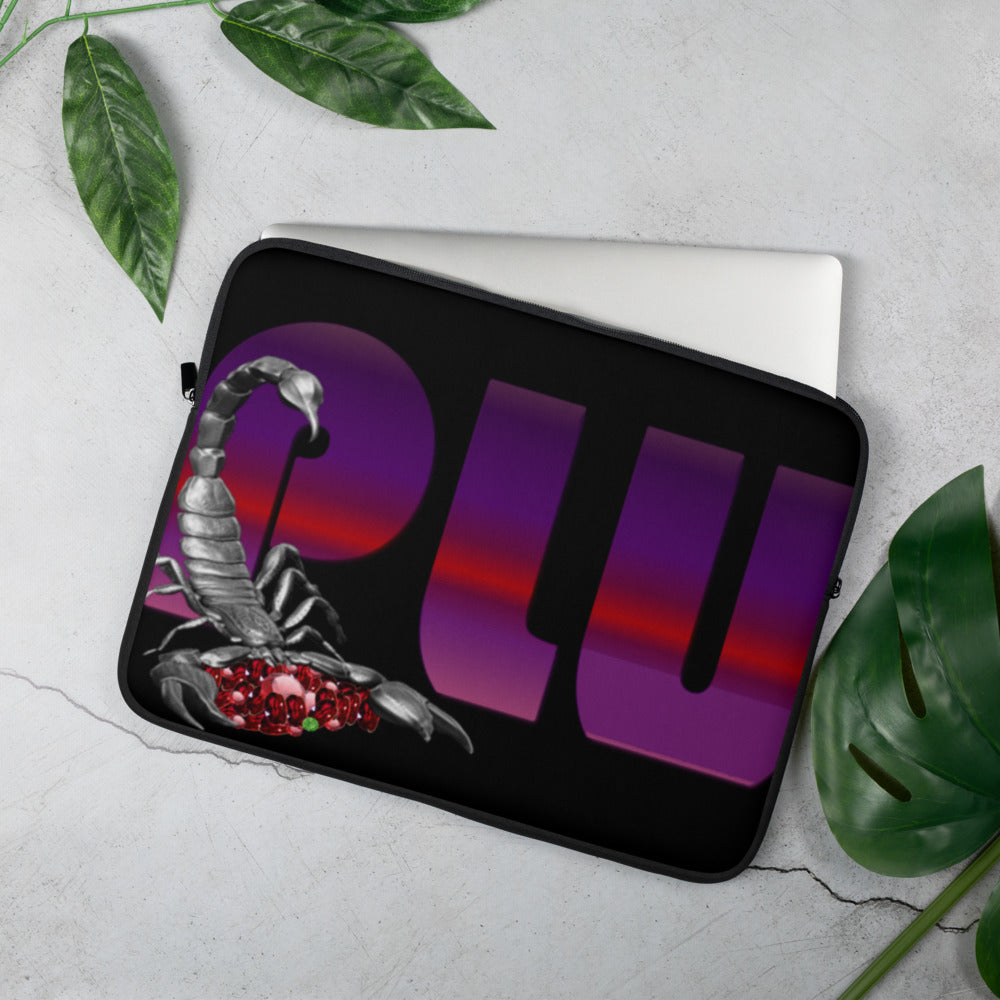 KNOW WEAR™ Unisex PLU™ Laptop Sleeve
