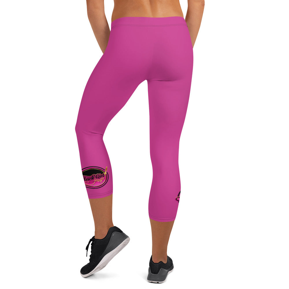 Black Girl Magic 36FIVE Capri Leggings