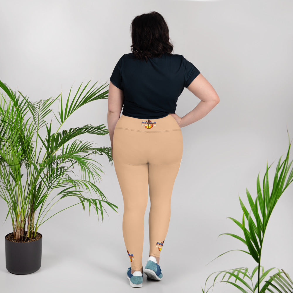 KNOW WEAR™ JUPE™ Plus Size Leggings