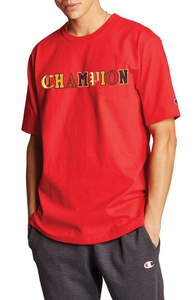 Polo para Hombre CHAMPION HERITAGE TEE - OLD ENGLISH LETTERING 2WC