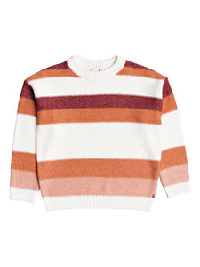 Chompa para Mujer ROXY SWEATER TRIP FOR TWO STRIPE MJR0