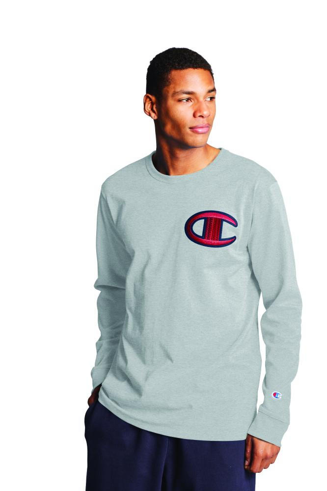 Polo m/larga para Hombre CHAMPION HERITAGE LONG SLEEVE TEE 1IC