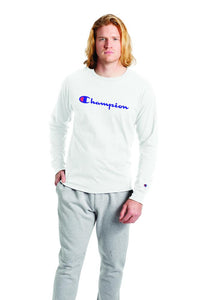 Polo m/larga para Hombre CHAMPION CLASSIC GRAPHIC LONG SLEEVE TEE 045