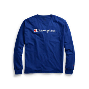 Polo m/larga para Hombre CHAMPION CLASSIC GRAPHIC LONG SLEEVE TEE GUX
