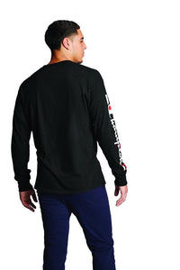Polo m/larga para Hombre CHAMPION CLASSIC LONG SLEEVE TEE - GRAPHIC 003